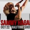 Sammy Hagar 49ers halftime promo